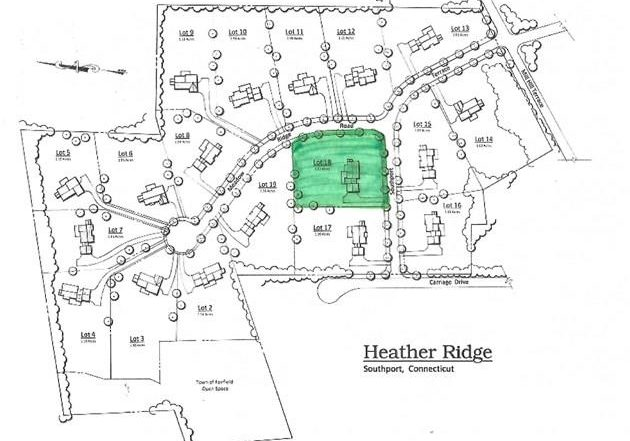 108 Southport Terrace Plot Plan