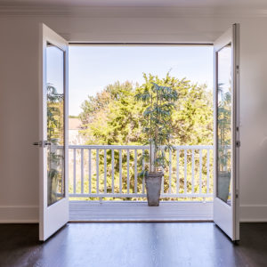 #40 - 52 Gould Manor - A New Generation Healthy Home -  French Doors Leading to Balcony
